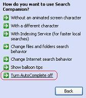 how to turn on autocomplete